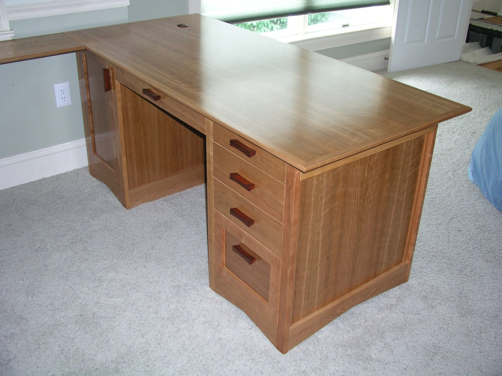 custom built desks home office. Custom Made Modular Home Office Desk \u0026 Credenza Built Desks