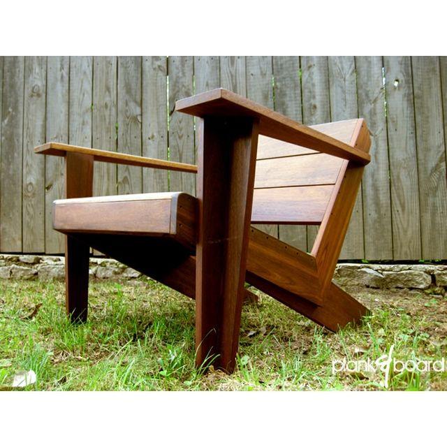 Modarondack - Modern Adirondack Chair by Ben Robinson