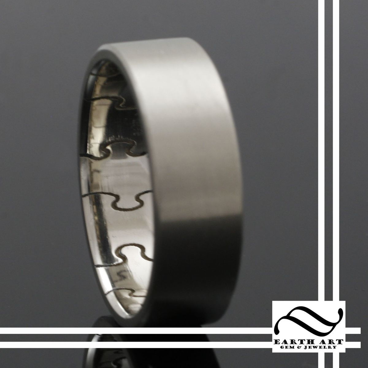 custom made the inner puzzle ring 14k - Puzzle Wedding Rings