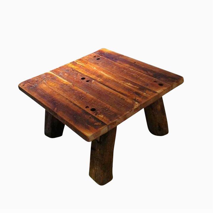 Pine Coffee Table With Turned Legs: Buy Custom Made Heart Pine Rustic Coffee Table With Hand