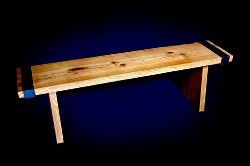 Custom Made Industrail Rustic Bench