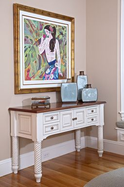 Custom Made Painted Sideboard