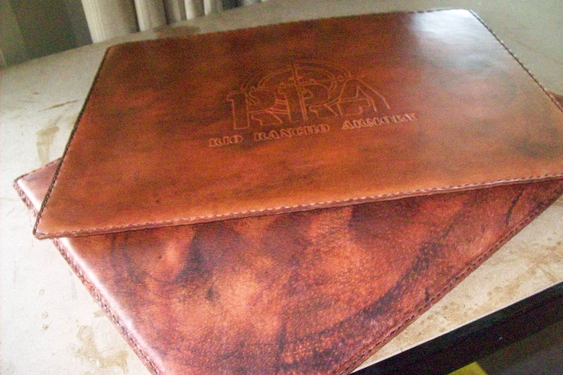 pad by handmade leather s kerry accessories custom desk kerryscustomleather made