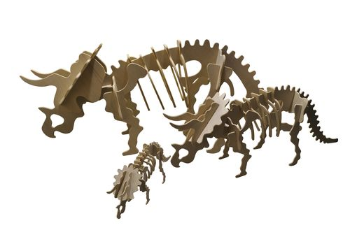 Custom Made Medium Triceratops Puzzle Kit