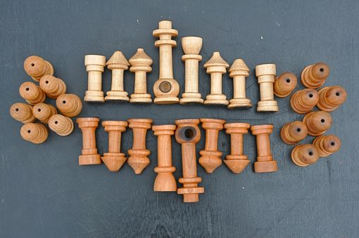 Custom Made Pipe Chess Set