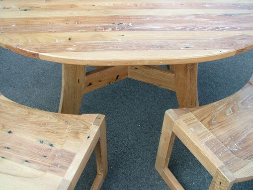 Custom Made Kitchen Table & Stools
