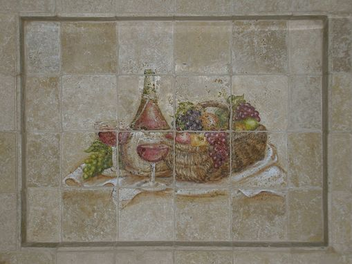 Custom Made Tile Backsplash