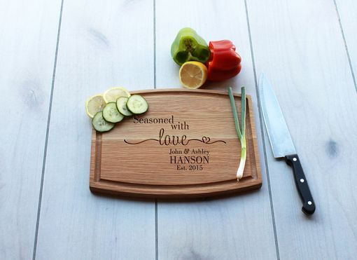 Custom Made Personalized Cutting Board, Engraved Cutting Board, Custom Wedding Gift – Cba-Wo-Johnashley