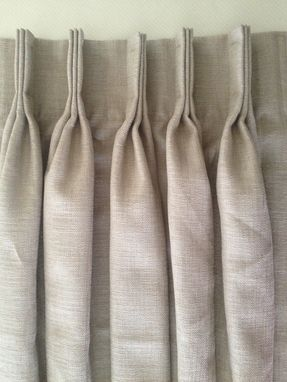 Custom Made Pinch Pleat Panels