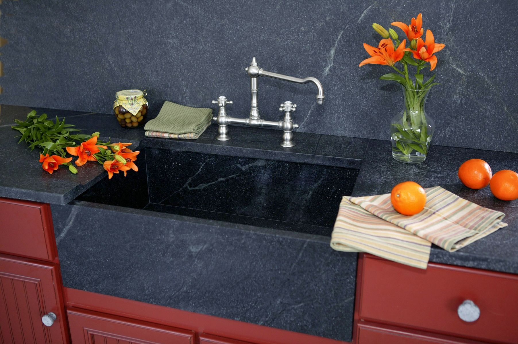 Hand Made Custom Soapstone Sinks by Carolina Soapstone Inc ...