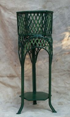 Custom Made Victorian Planter Stand.