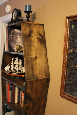 Custom Made Coffin Bookcase