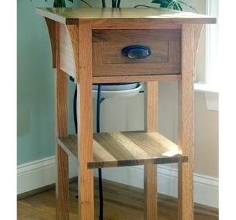Custom Made Arts & Crafts Side Table
