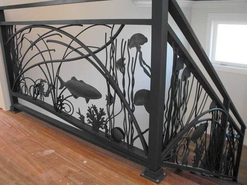 Custom Made Seascape Railing