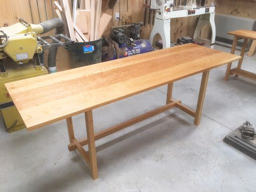 Custom Made Folding Cherry Office Desk