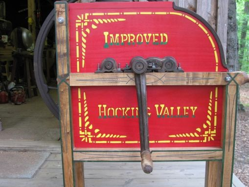 Custom Made 1900 Hocking Valley Cornsheller Restoration