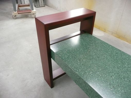 Custom Made Modern Bench
