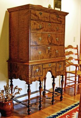 Custom Made William And Mary Highboy