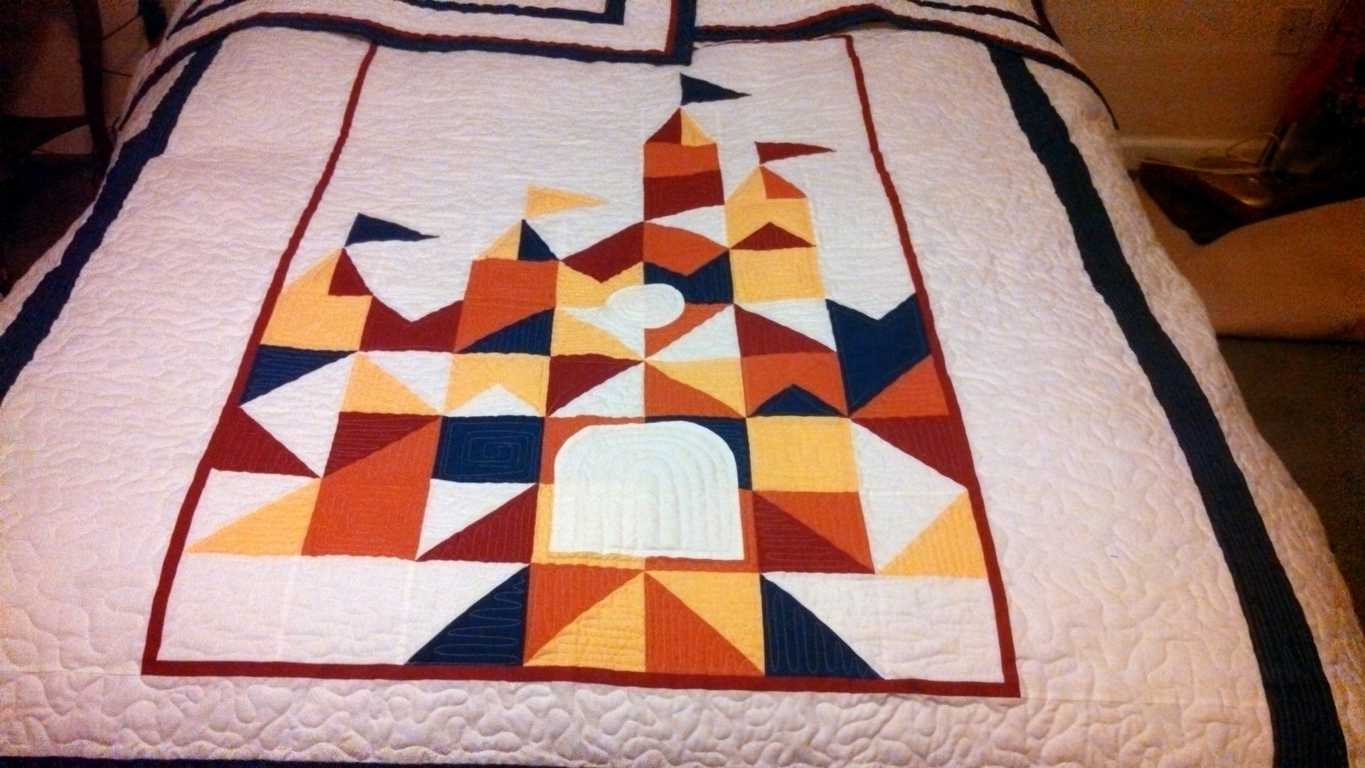 Disney Castle Quilt Pillow Shams