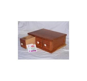 Custom Made Apothecary Style Tea Chests