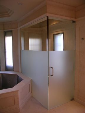 Custom Made Frameless Shower Door