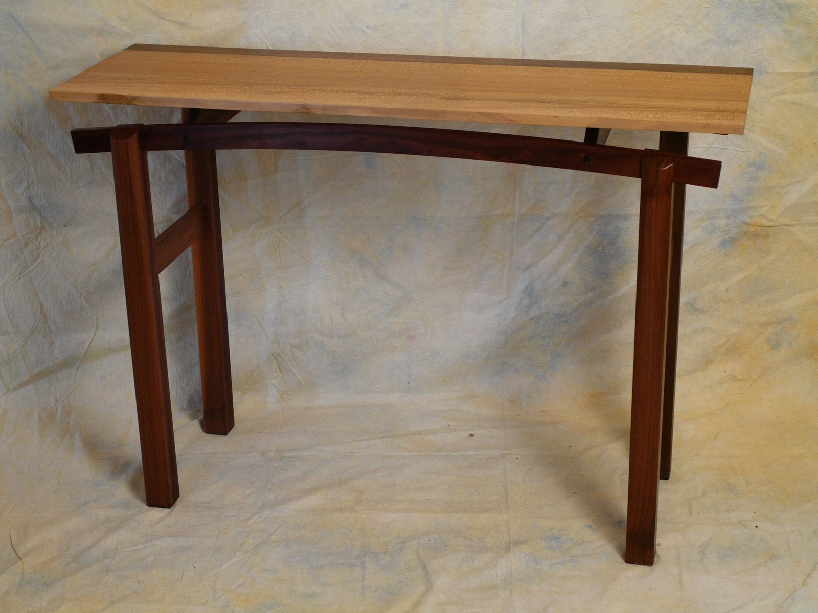 Custom Made Hall Table By Taos Woodshop Custommade Com
