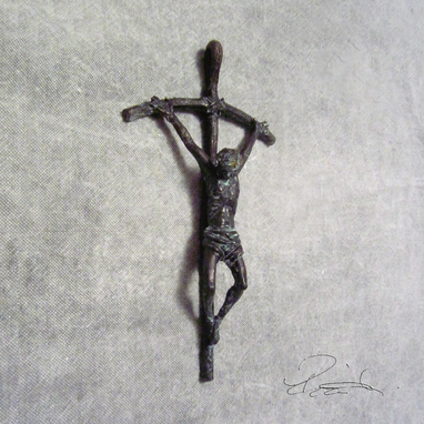 Custom Made Bronze Crucifix