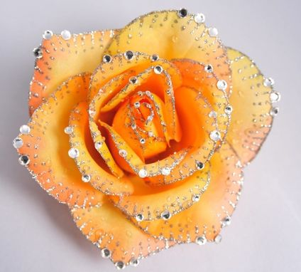 Custom Made Tangerine Rose