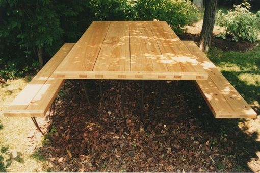 Custom Made Reclaimed Outdoor Dining Table