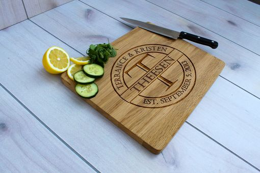 Custom Made Personalized Cutting Board, Engraved Cutting Board, Custom Wedding Gift – Cb-Wo- Theesen