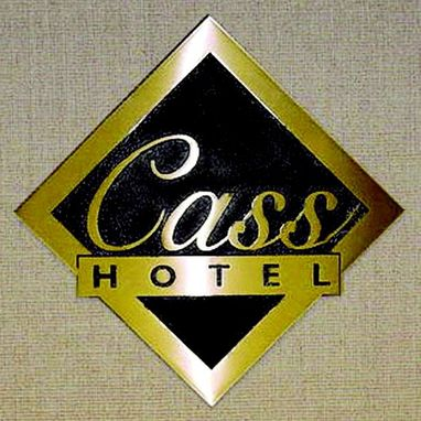 Custom Made Hotel Cast Plaque