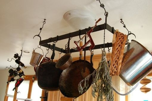 Custom Made Pot Rack