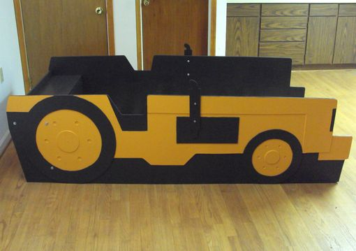 Buy A Handmade Tractor Twin Kids Bed Frame Handcrafted