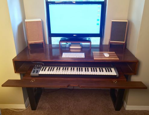 Custom Made Piano Console Desk