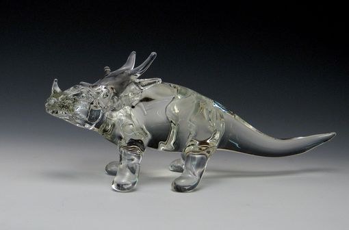 Custom Made Triceratops Figure