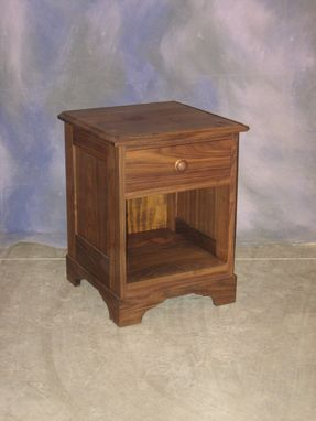 Custom Made One Drawer Nightstand