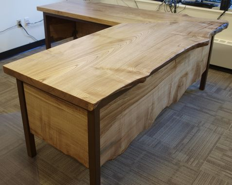 Custom Made Lice Edge Desk