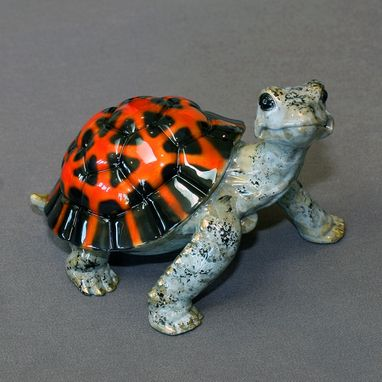 "Custom Made Bronze Turtle ""Daden Large"" Tortoise Figurine Statue Sculpture Limited Edition Signed Numbered"