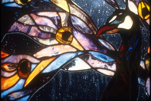 Custom Made Leaded Stained Glass Windows
