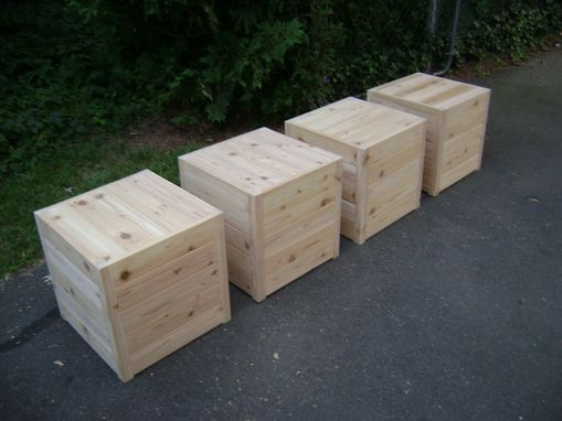 Custom Made Cedar Cubes