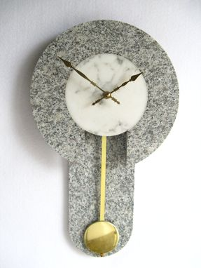 Custom Made Granite Wall Clock