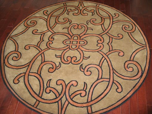 Custom Made Five Co-Ordinated Custom Rugs For Nj Residence
