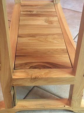 Custom Made Chair Side Table