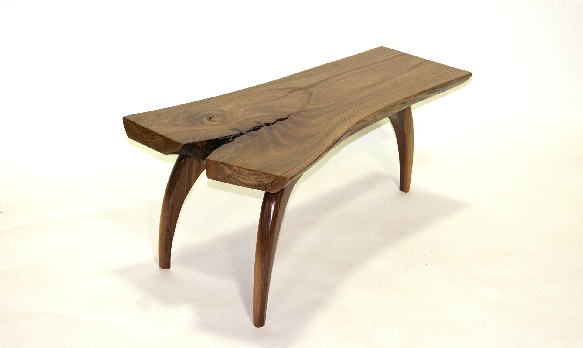 Custom Made Three Legged Coffee Table