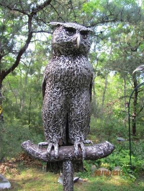 Custom Made Great Horned Owl
