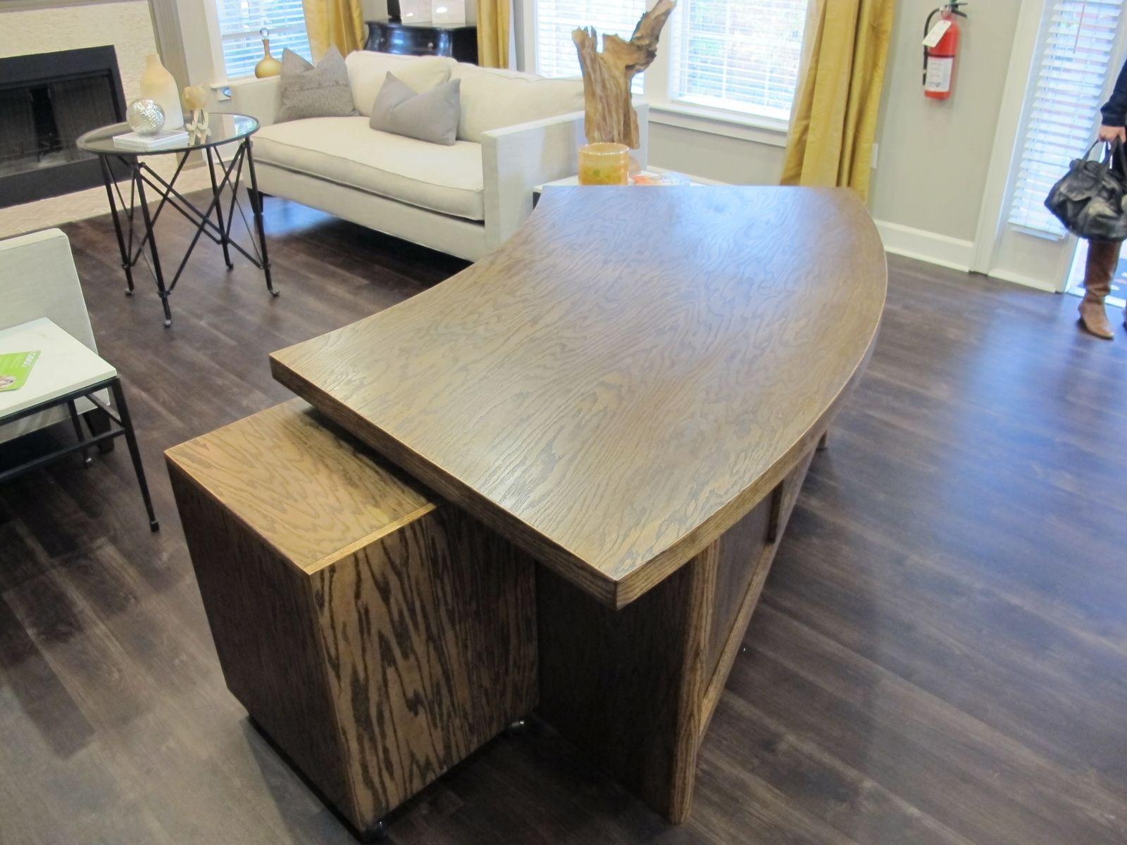 Custom Made Curved Reception Desk