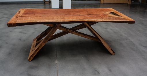 Custom Made Cherry Slab Dining Table