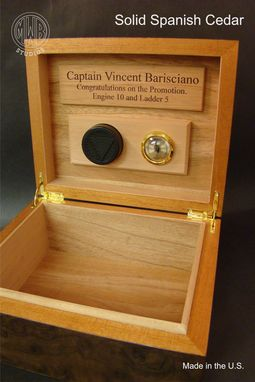Custom Made Custom Handcrafted Personalized Humidors.