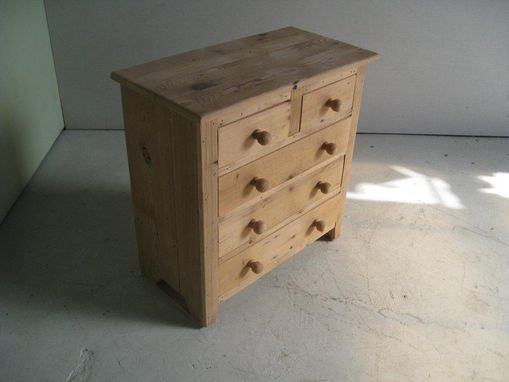 Custom Made 5 Drawer Barnwood Nightstand
