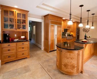 Custom Made Falmouth, Maine Kitchen
